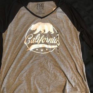 Tops - California baseball tee